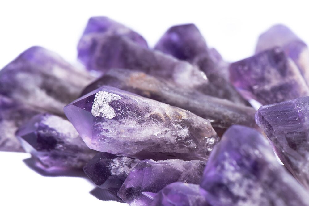 Load image into Gallery viewer, Raw Amethyst Point