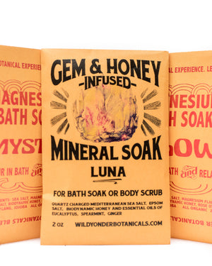 Load image into Gallery viewer, Gem & Honey Bath Salt