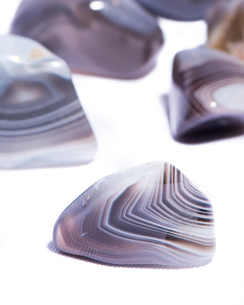 Load image into Gallery viewer, Botswana Agate Tumbled