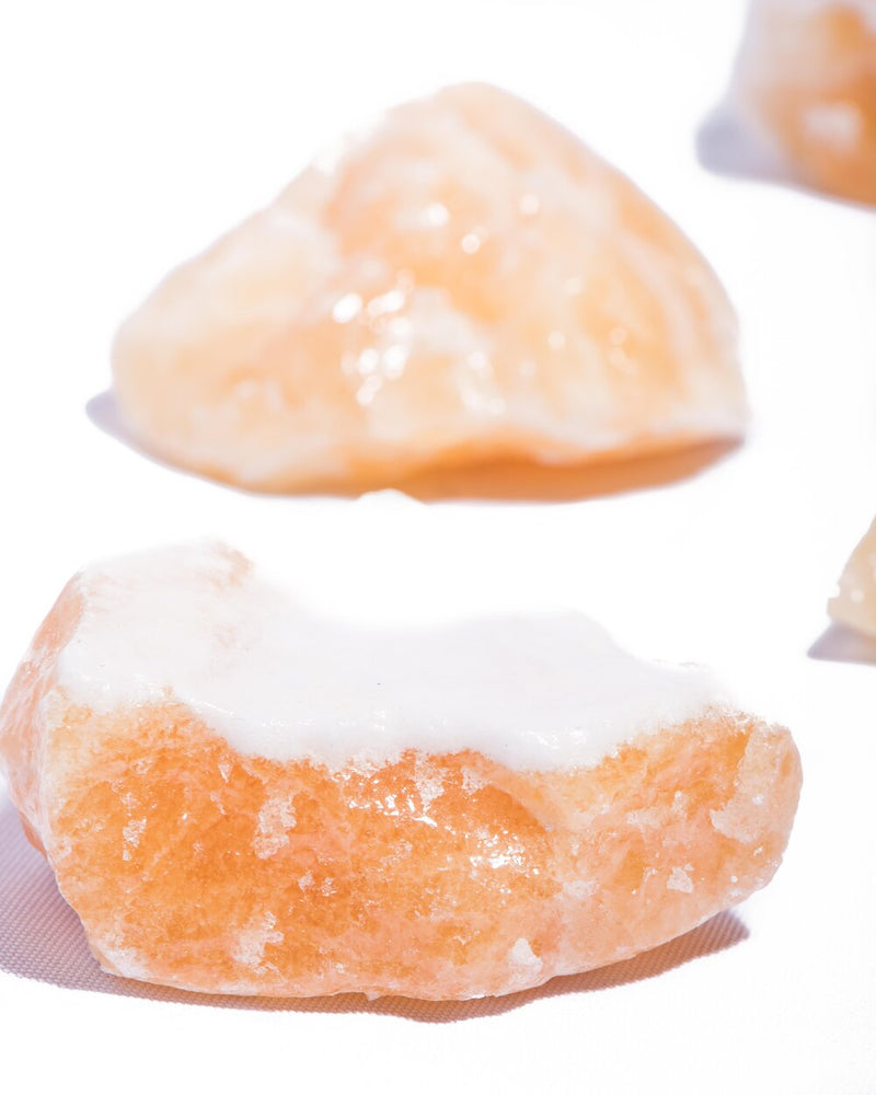 Orange Calcite Raw