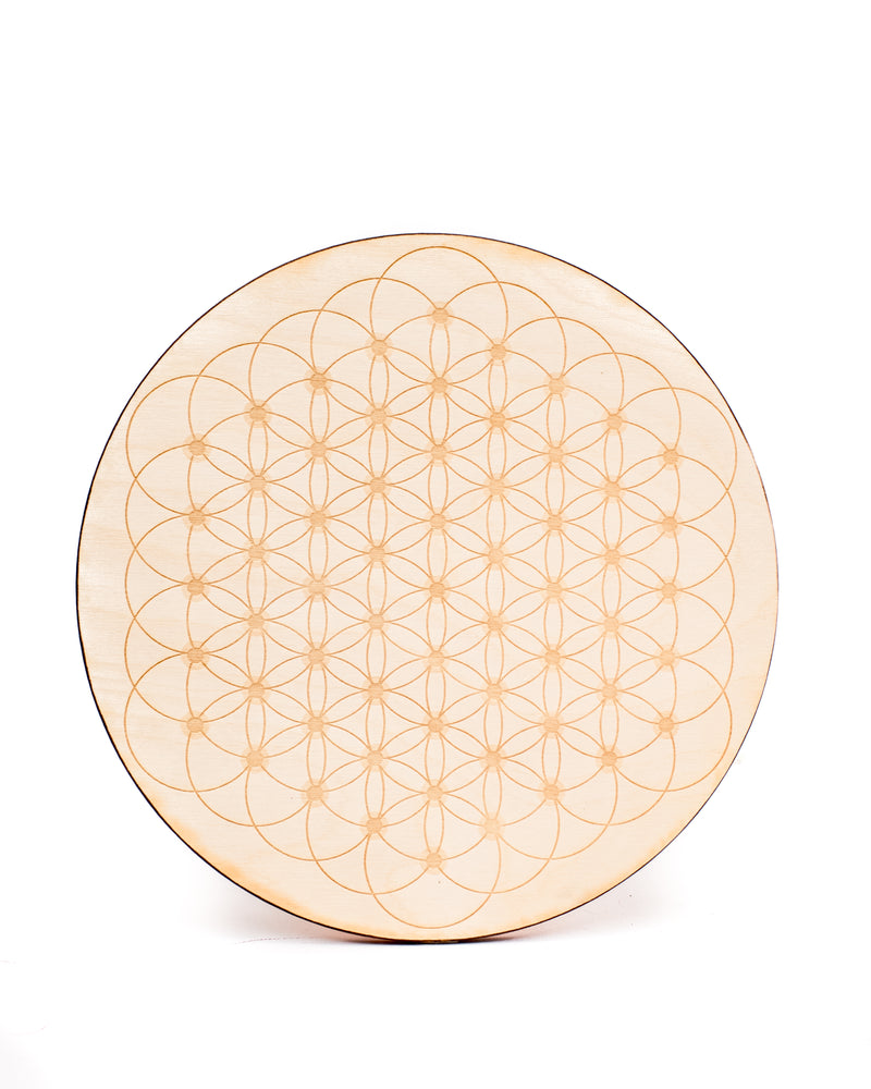 Flower of Life Dotted Crystal Grid