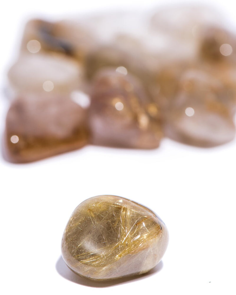 Load image into Gallery viewer, Rutilated Quartz Tumbled