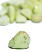Lemon Chrysoprase Tumbled
