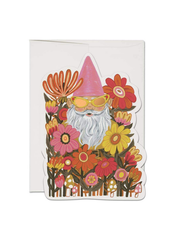 Load image into Gallery viewer, Radical Gnome Greeting Card