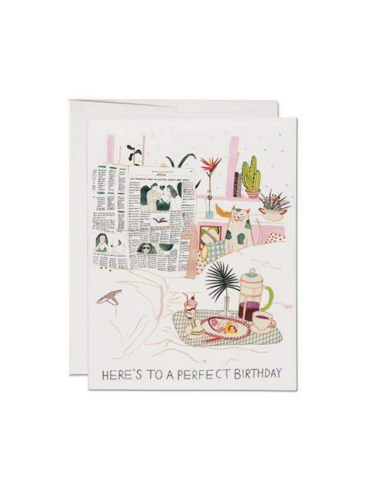 Birthday Perfection Birthday Card