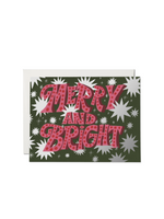 Sparkling Merry and Bright Card