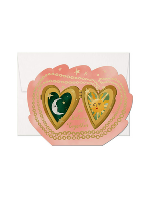 Load image into Gallery viewer, Locket Love Greeting Card