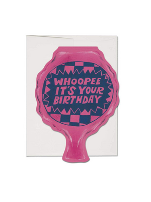 Whoopee Cushion Birthday Card