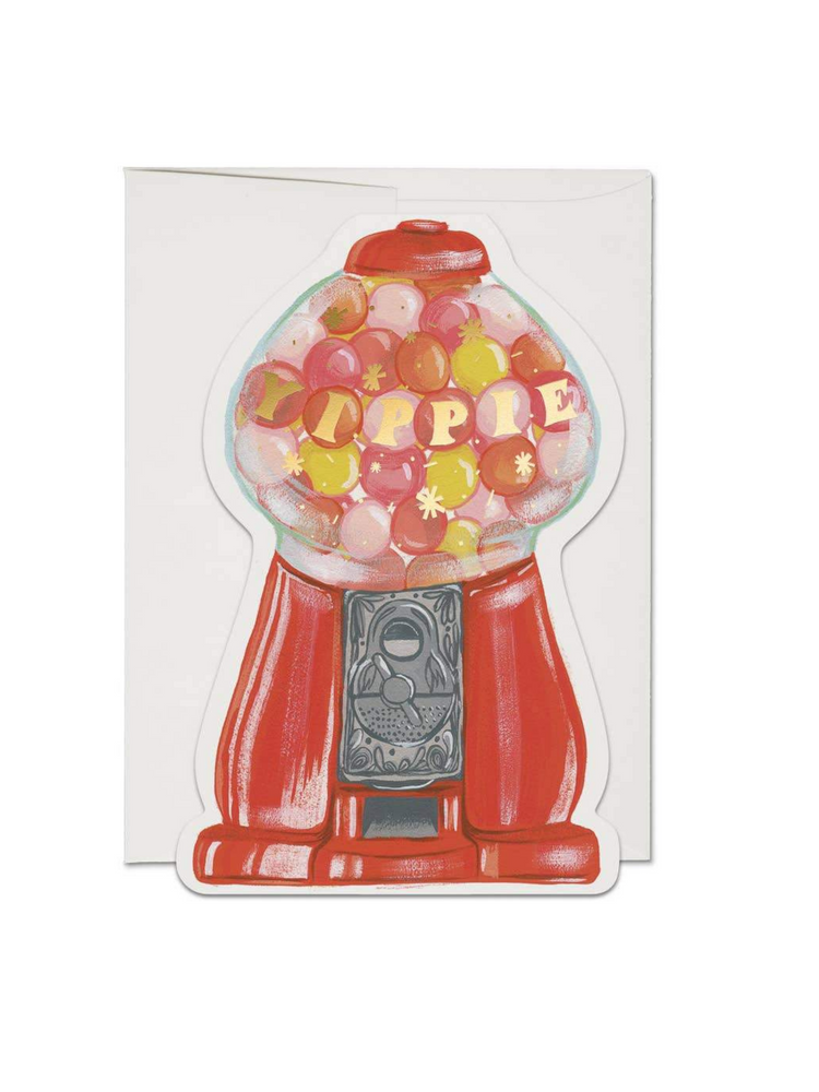 Load image into Gallery viewer, Gumballs Greeting Card