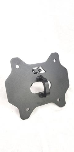 POLARIS RZR REAR STEEL PULL PLATE