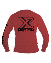Load image into Gallery viewer, X3 NATION LONG SLEEVE