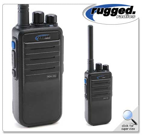 Digital 16-Channel Handheld Radio
