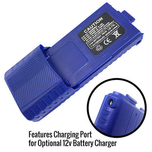 RH-5R High Capacity 3800mAh Radio Battery