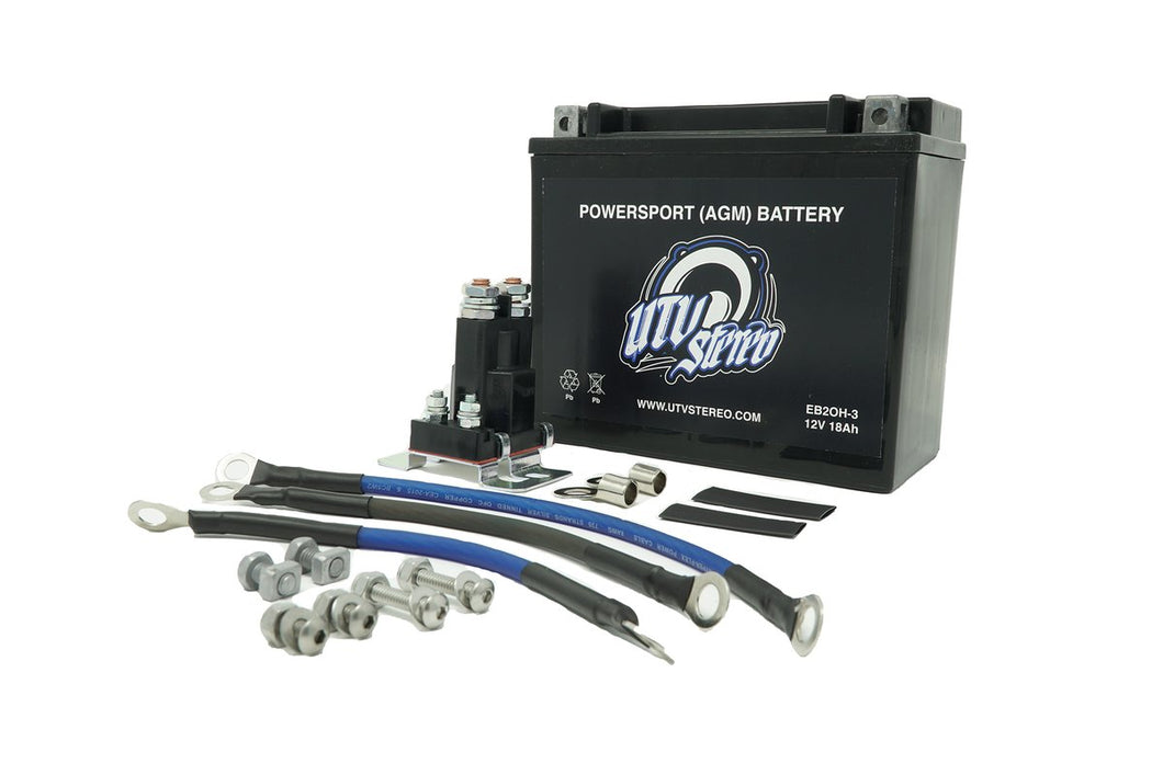 Can Am X3 2nd Battery Kit