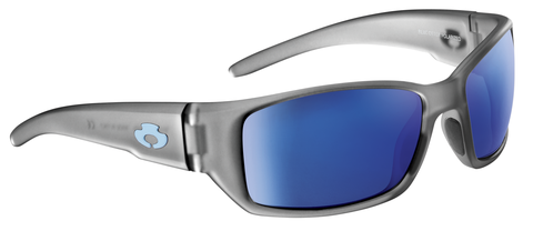 POLARIZED SUNGLASSES: BIG CREEK | RIME GRAY-NIGHT BLUE | NYLON