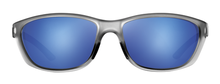 Load image into Gallery viewer, POLARIZED SUNGLASSES: TALLAPOOSA | RIME GRAY-NIGHT BLUE | NYLON