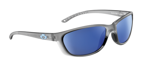POLARIZED SUNGLASSES: TALLAPOOSA | RIME GRAY-NIGHT BLUE | NYLON