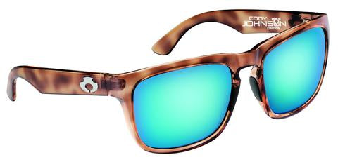 COJO EDITION | POLARIZED SUNGLASSES: CUMBERLAND | RAW HONEY-SKY BLUE | NYLON