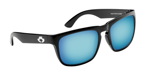 POLARIZED SUNGLASSES: CUMBERLAND | GLOSS BLACK-SKY BLUE | NYLON