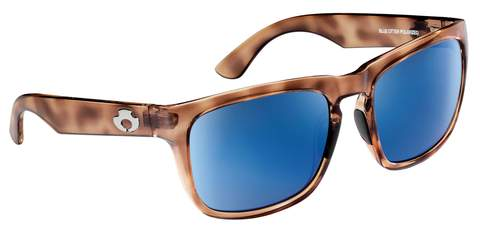 POLARIZED SUNGLASSES: CUMBERLAND | RAW HONEY-PACIFIC BLUE | NYLON