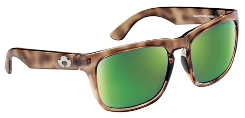 POLARIZED SUNGLASSES: CUMBERLAND | RAW HONEY-PALM GREEN | NYLON