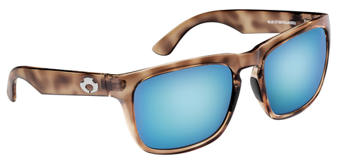 POLARIZED SUNGLASSES: CUMBERLAND | RAW HONEY-SKY BLUE | NYLON