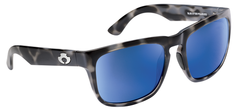 POLARIZED SUNGLASSES: CUMBERLAND | SMOKE TORTOISE-PACIFIC BLUE | NYLON