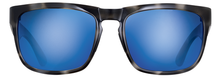 Load image into Gallery viewer, POLARIZED SUNGLASSES: CUMBERLAND | SMOKE TORTOISE-PACIFIC BLUE | NYLON