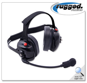 H60 Dual Radio Headset with Dual PTT