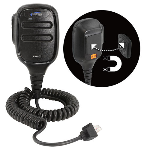 RM-60 and RM-45 Hand Mic with Scosche MagicMount™