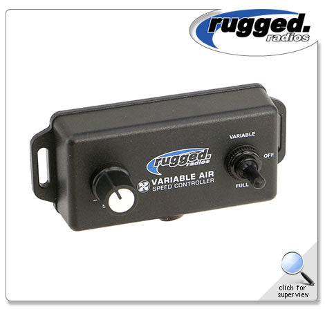 Variable Speed Controller for M3 Pumper Systems