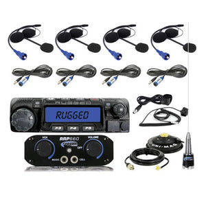 Ultimate Rider RRP660 4-Person System with 60-Watt Car-2-Car