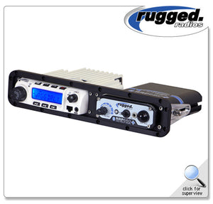 Universal Side-by-Side Mount for RM-100, RM-60, RM-50, or RM-45 Mobile Radio and Intercom