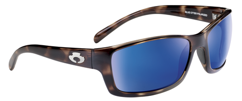 POLARIZED SUNGLASSES: OCONEE | WET MAPLE-TIDAL BLUE | NYLON