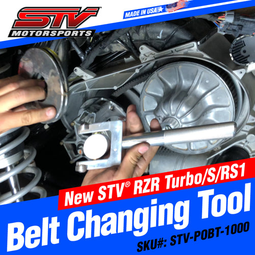STV® Polaris RZR Turbo/S/RS1 Belt Changing Tool