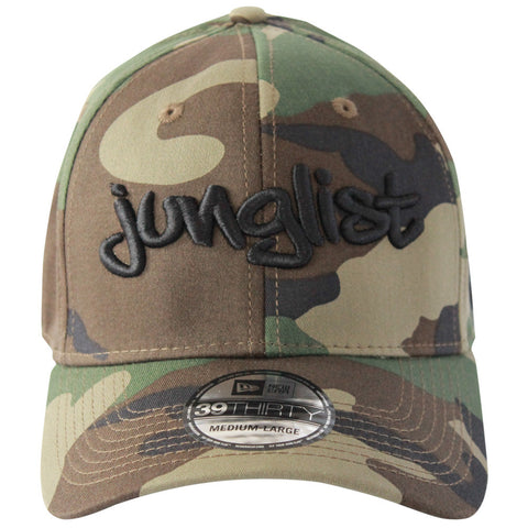 Junglist Hat - Stretch Fit (Curved) - Camo - BEDLAM Threadz
