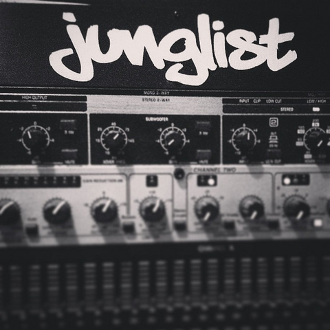 JUNGLIST DECAL
