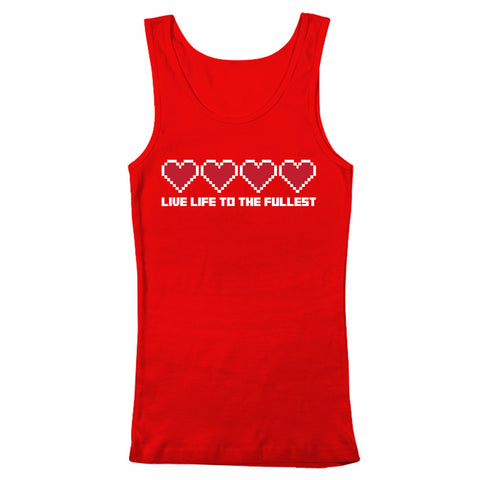 LIVE LIFE TO THE FULLEST - Tank Top - 4 Colors