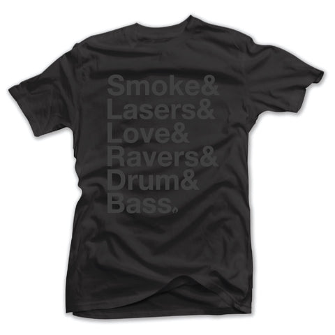 SMOKE AND LASERS - BLACKED OUT