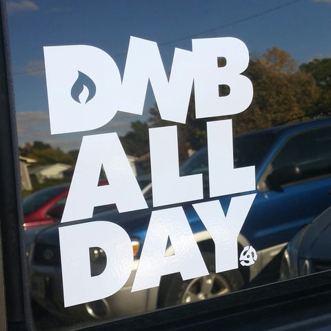 DNB ALL DAY DECAL - BEDLAM Threadz