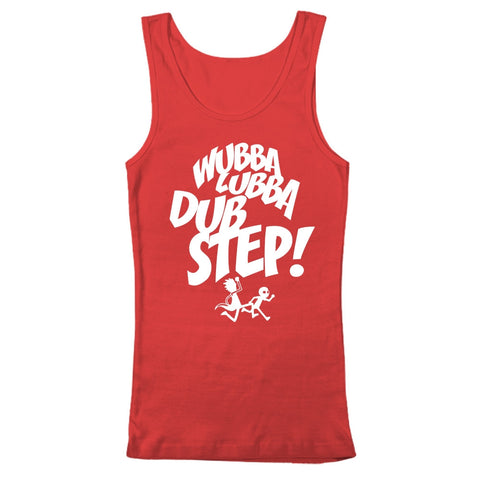 WUBBA LUBBA DUBSTEP - Tank Top - BEDLAM Threadz
