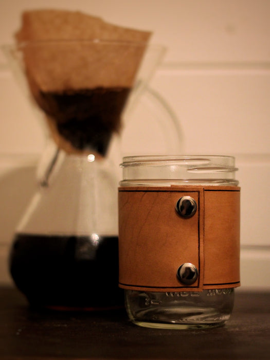 16oz Mason Jar Coffee Mug
