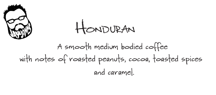 Honduran (Medium Roast 13.5oz bag)