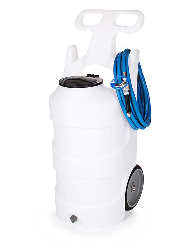 Battery Operated Foam Unit with Stainless Steel Ball Valve - 10 Gallon
