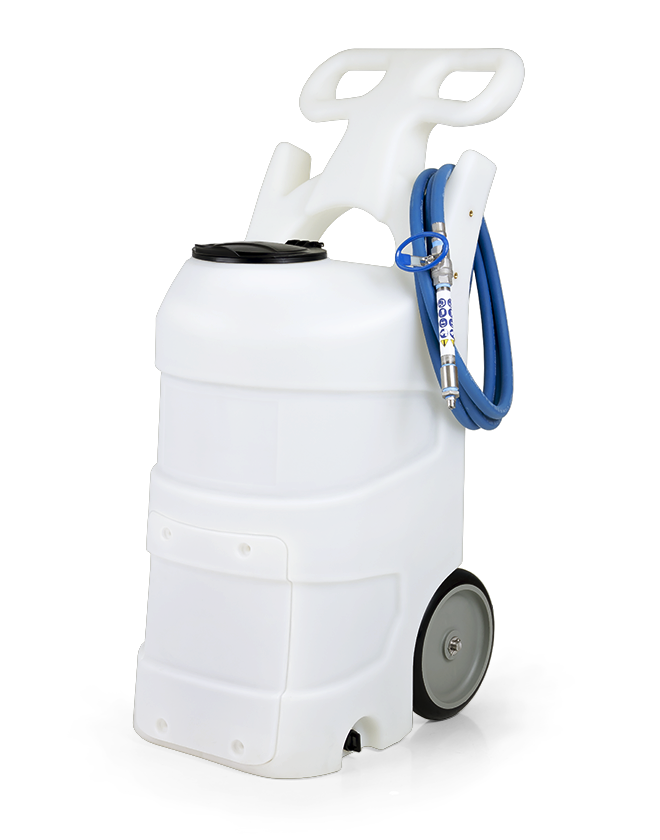 Battery Operated Foam Unit with Stainless Steel Ball Valve - 15 Gallon