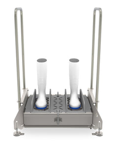 Walk-Through Footwear Sanitizing Unit