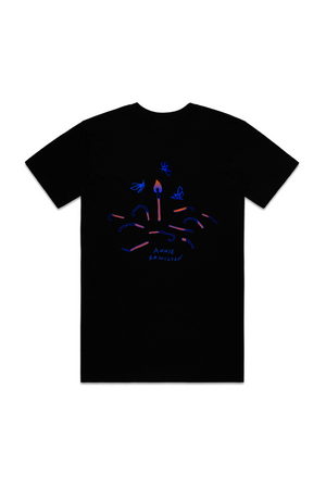 MOTHS TO THE FLAME TSHIRT