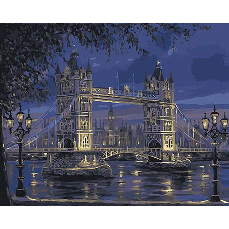 London Tower Bridge | Schilderen Op Nummer - Myth Of Art