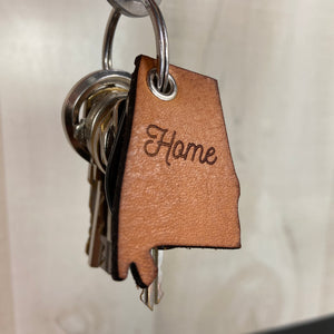 Personalized State Key Chain