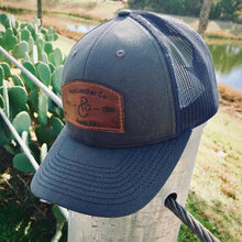 Load image into Gallery viewer, Pecu - Leather Patch Trucker Hat